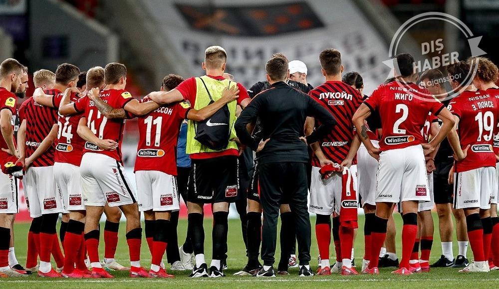 Spartak Moskova ligden çekilecek