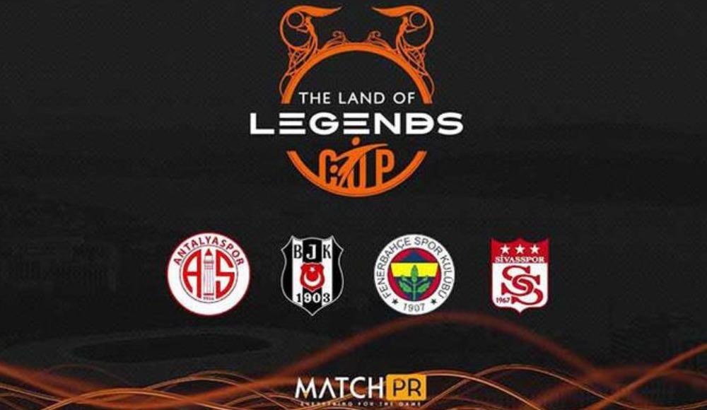 Fenerbahçe ve Beşiktaş, The Land of Legends Cup'ta karşılaşacak