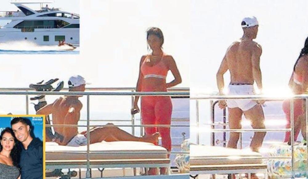 Ronaldo sezonun stresini 7 milyon dolarlık yatında atıyor