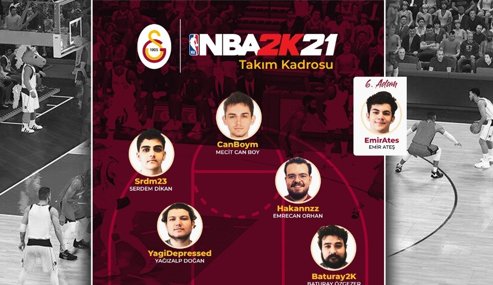 Galatasaray Espor, NBA 2K takımını duyurdu
