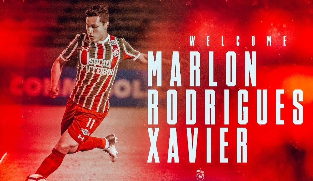 Trabzonspor, Marlon transferini açıkladı