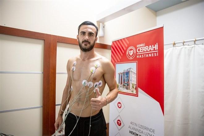 Denizlisporlu futbolcular sağlık kontrolünden geçti