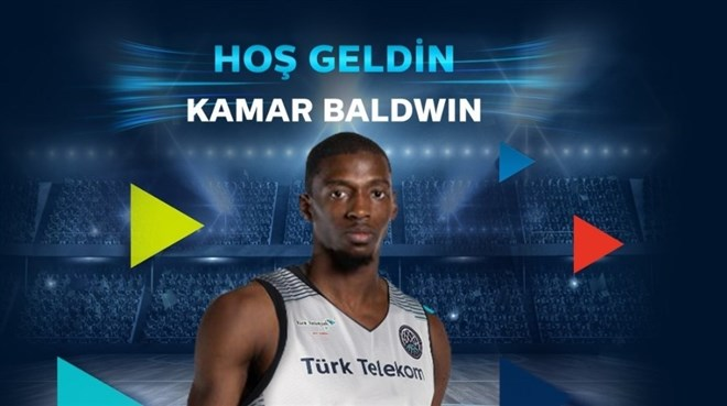 Türk Telekom, Kamar Baldwin'i transfer etti