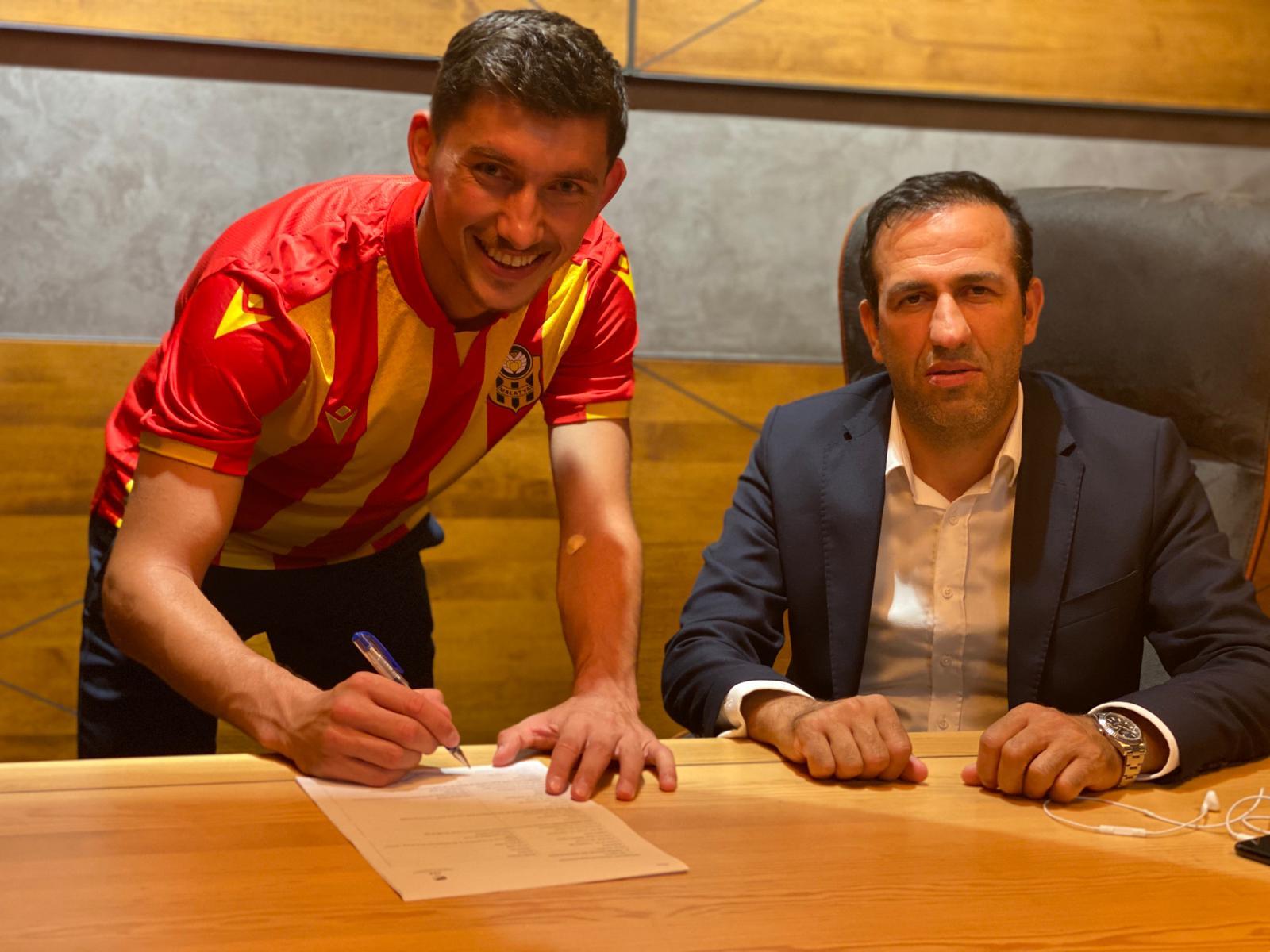 Malatyaspor da transferi açıkladı