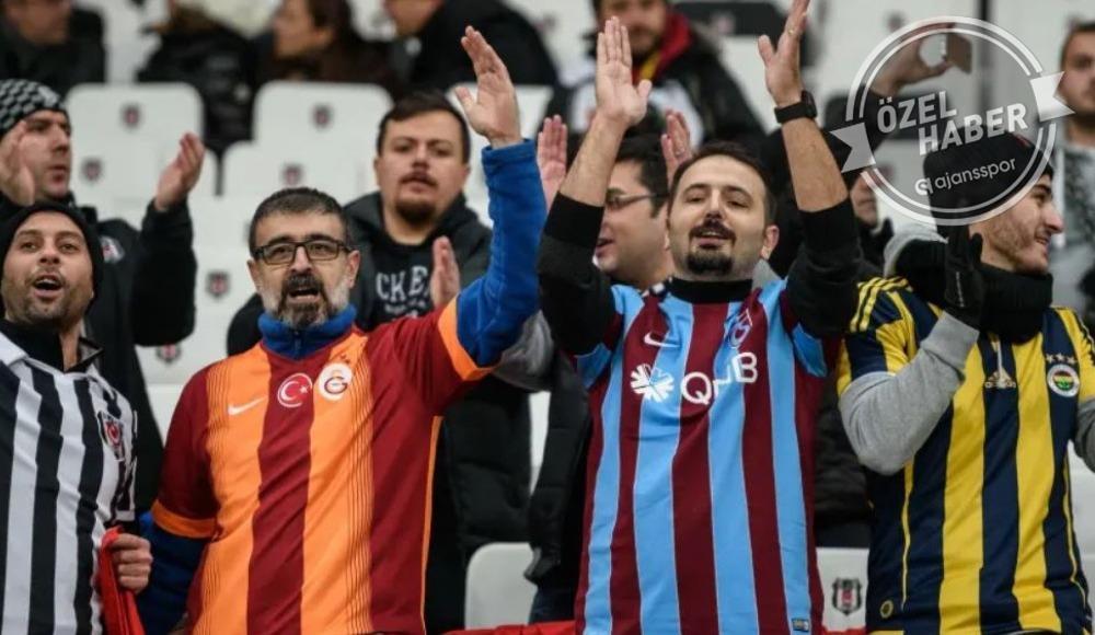 Tribünde şampiyon Galatasaray!