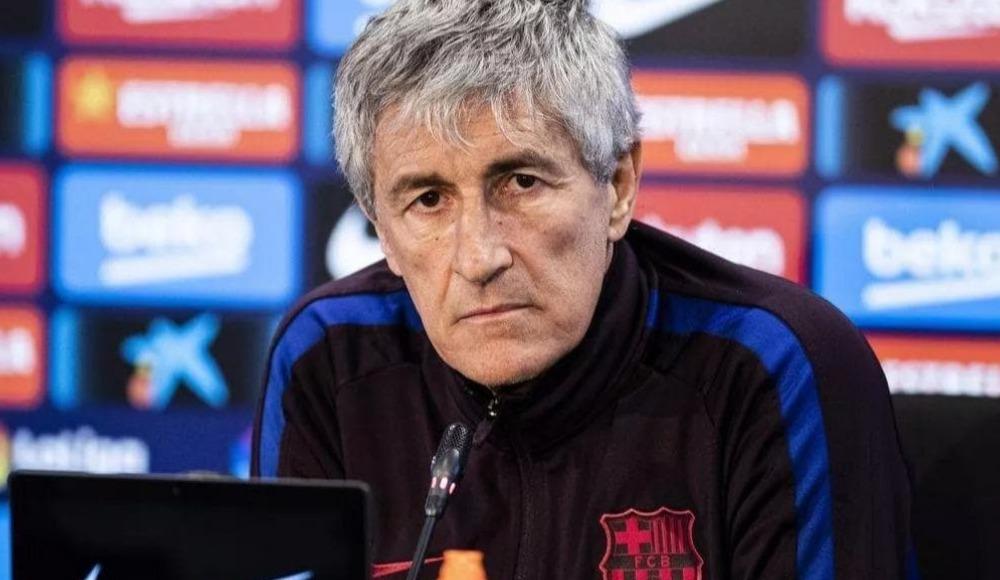 Barcelona, teknik direktör Quique Setien'in görevine son verdi