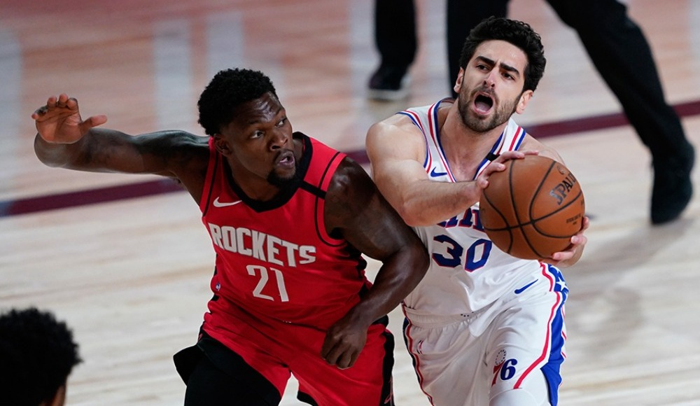 Philadelphia 76ers'tan Houston Rockets'a 38 sayı fark