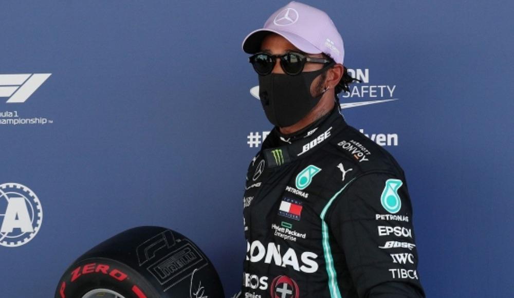 F1 İspanya Grand Prix'sinde pole pozisyonu Hamilton'ın