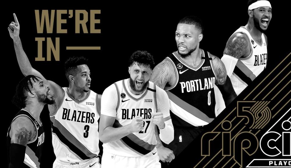 NBA'de play-off bileti alan son takım Trail Blazers