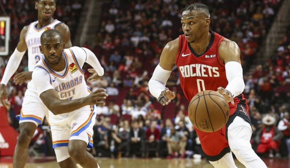 Houston Rockets - Oklahoma City Thunder (Canlı Skor)