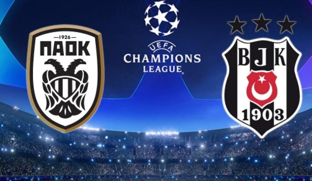 PAOK - Beşiktaş maçı hangi ülkelerde şifresiz olacak?