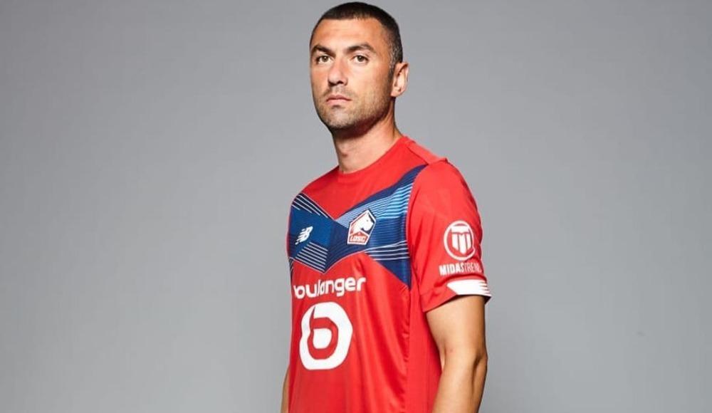 Burak Yılmaz ilk maçına çıktı, Lille takıldı