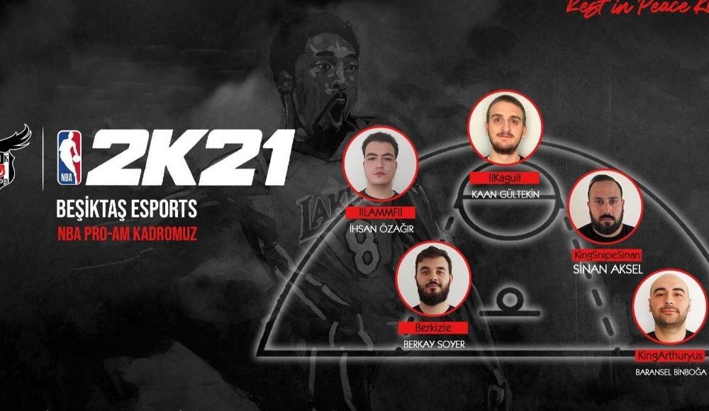 Beşiktaş Esports, NBA 2K takımını duyurdu!