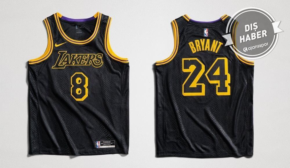 Lakers, Kobe Bryant anısına özel forma giyecek