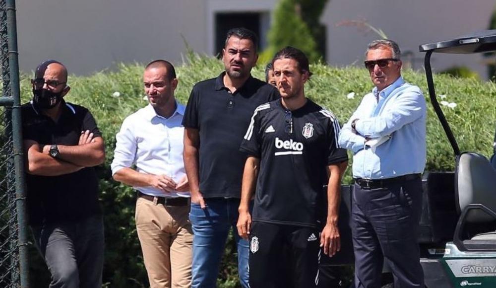Ahmet Nur Çebi'den takıma yakın ilgi