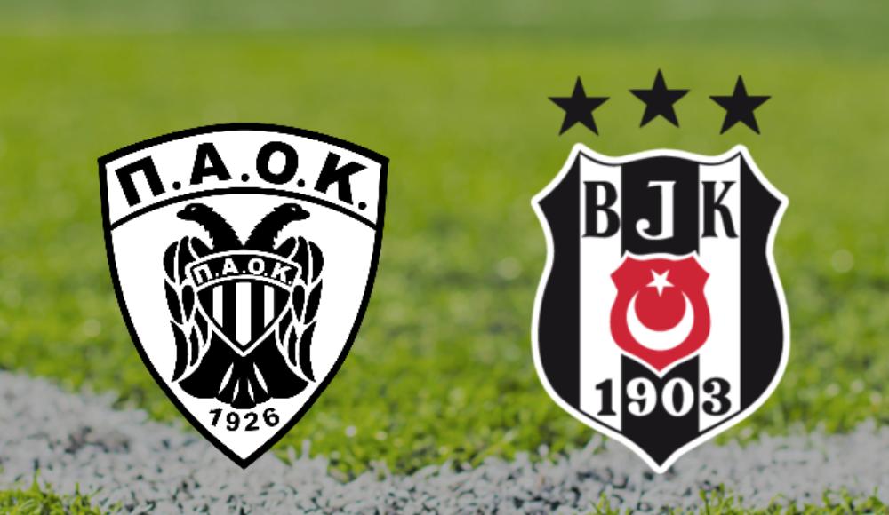 PAOK - Beşiktaş maçı şifresiz kanalda!