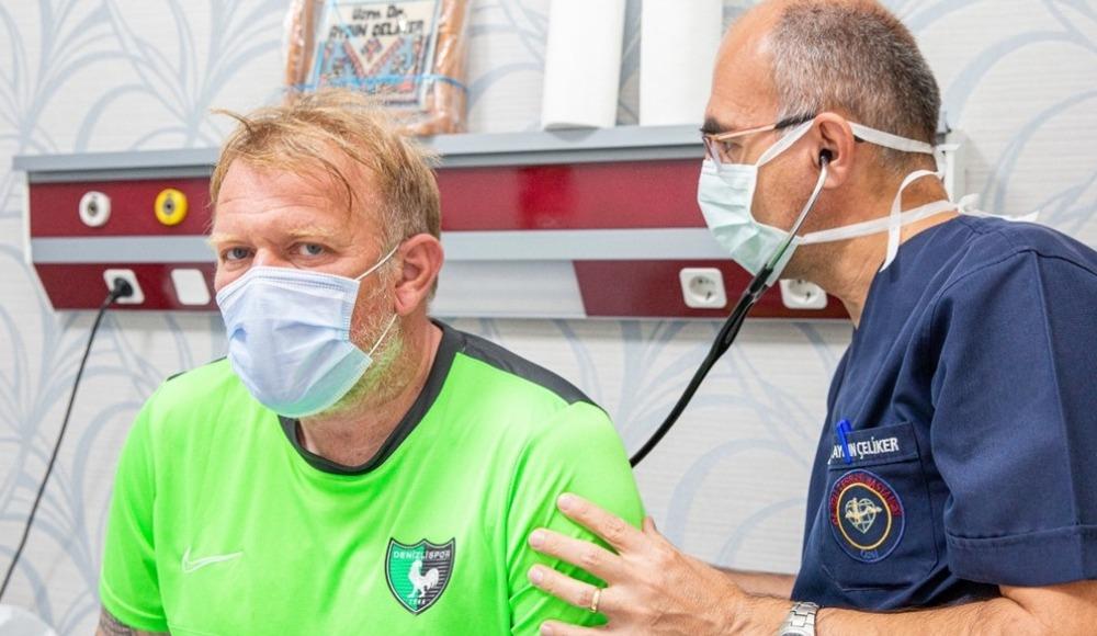 Robert Prosinecki ve yardımcılarına kontrol
