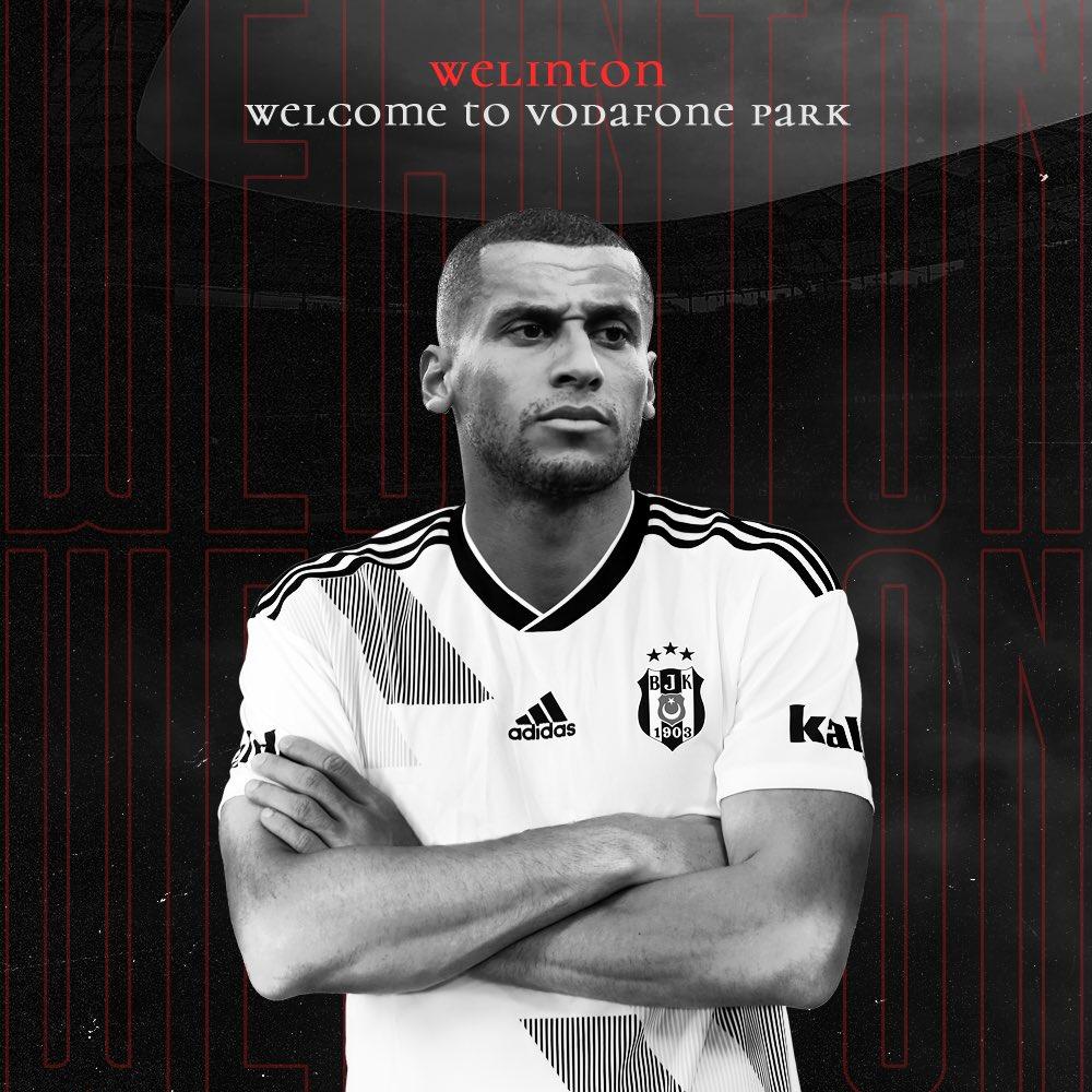 Transfer haberleri: Beşiktaş Welinton'u resmen açıkladı!