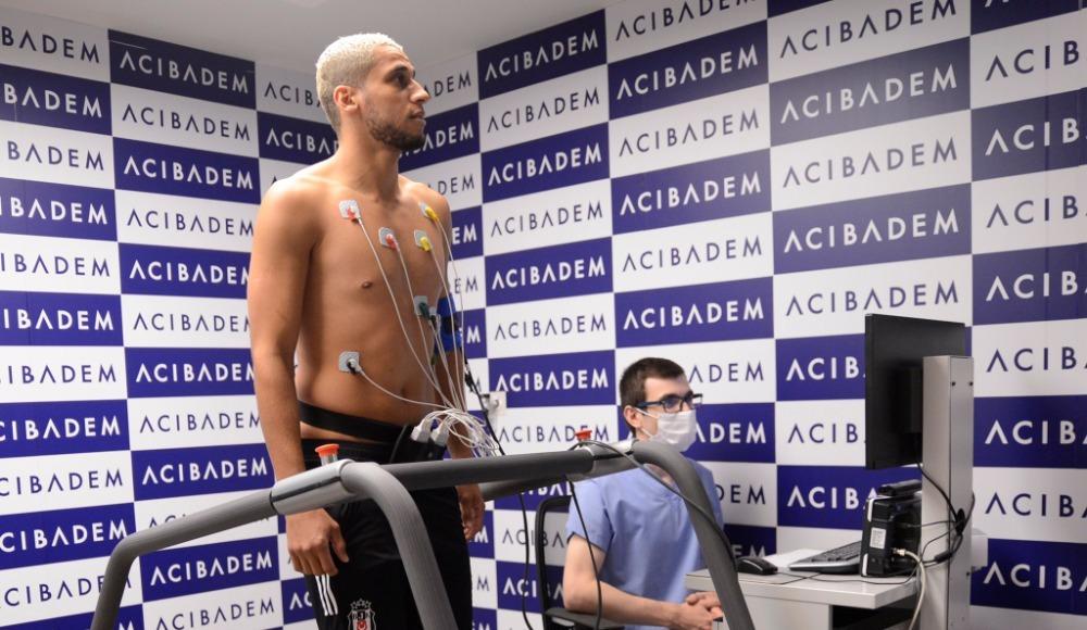 Beşiktaş'ın yeni transferi Welinton sağlık kontrolünden geçirildi