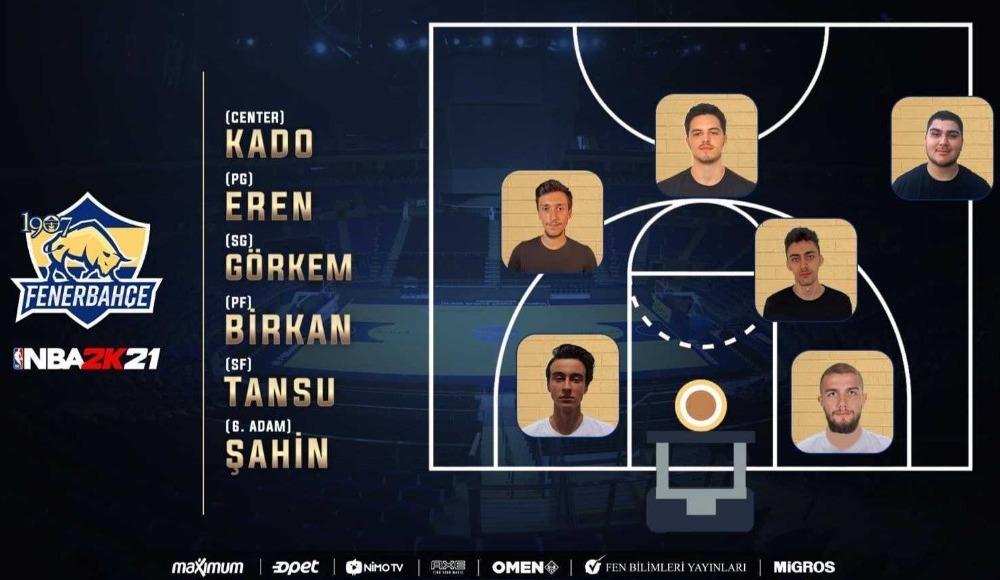 Fenerbahçe, Espor'da NBA 2K kadrosunu duyurdu