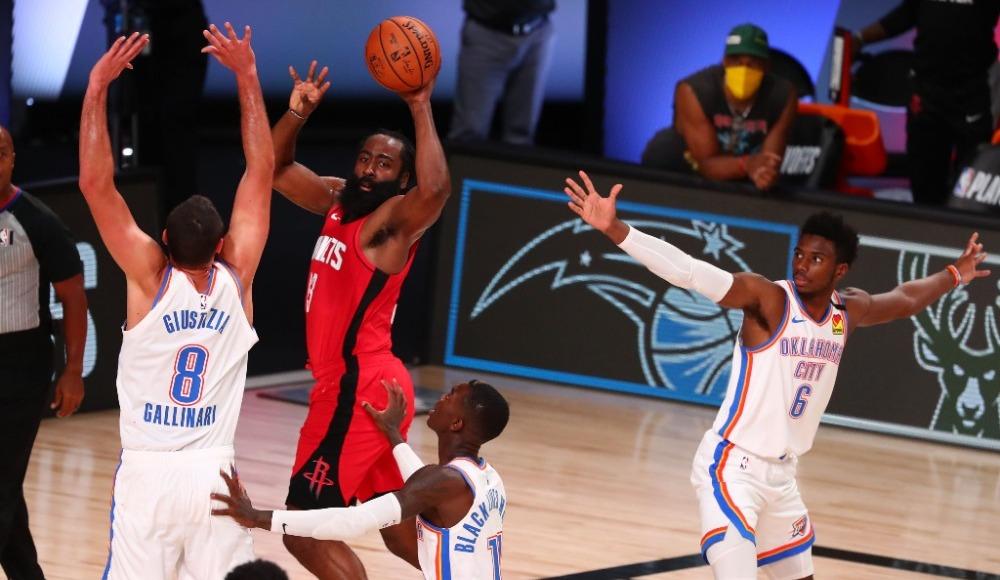 Oklahoma City Thunder - Houston Rockets (Canlı Skor)