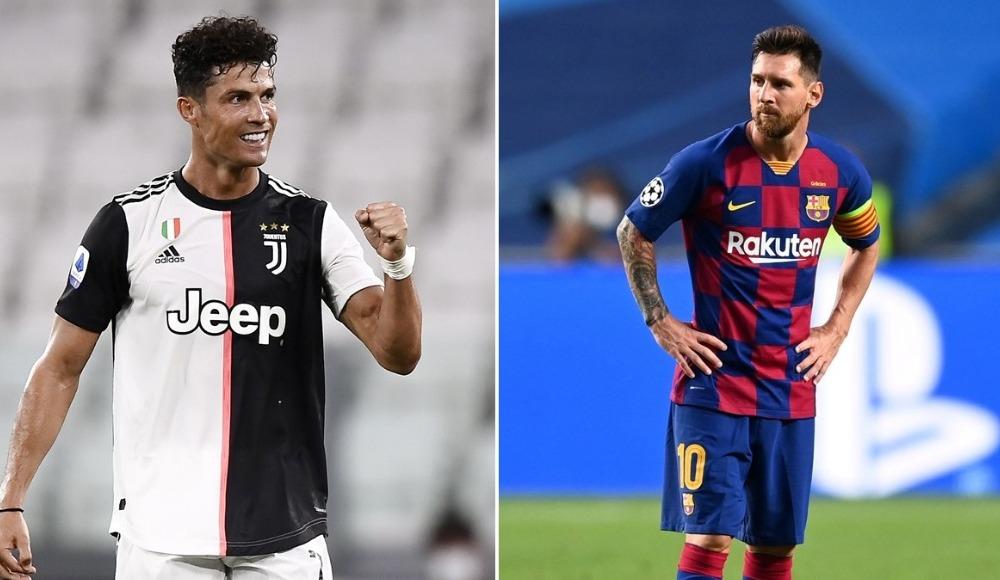 Ronaldo ile Messi'den bir ilk