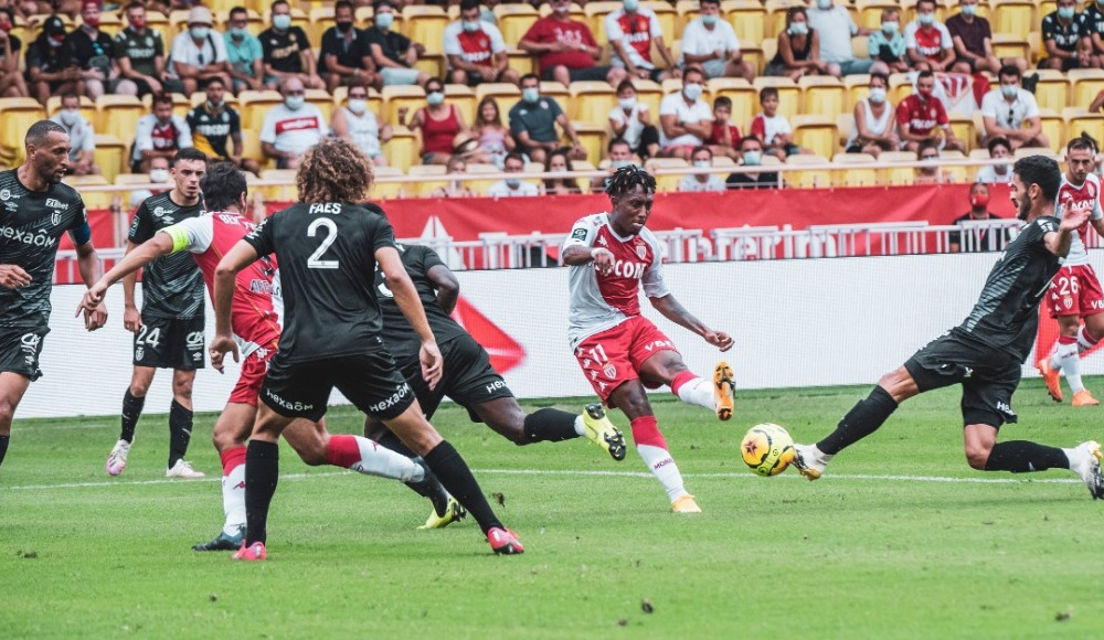 Onyekuru 45 dakika oynadı, Monaco 1 puanla ayrıldı