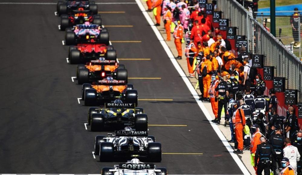 Formula 1 İstanbul GP yarış saatleri belli oldu