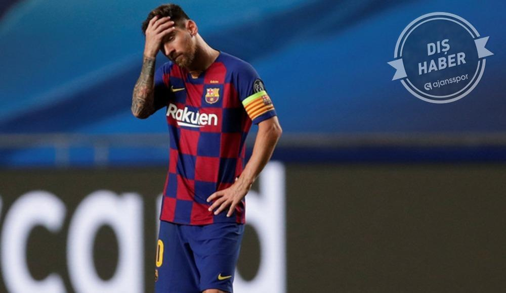 Messi, Barcelona'dan ayrılmak istediğini yönetime bildirdi