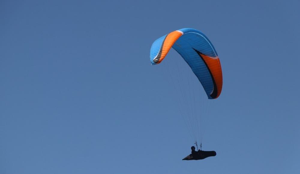 Ali Dağı Yamaç Paraşütü Türkiye Mesafe Şampiyonası Kayseri'de devam ediyor