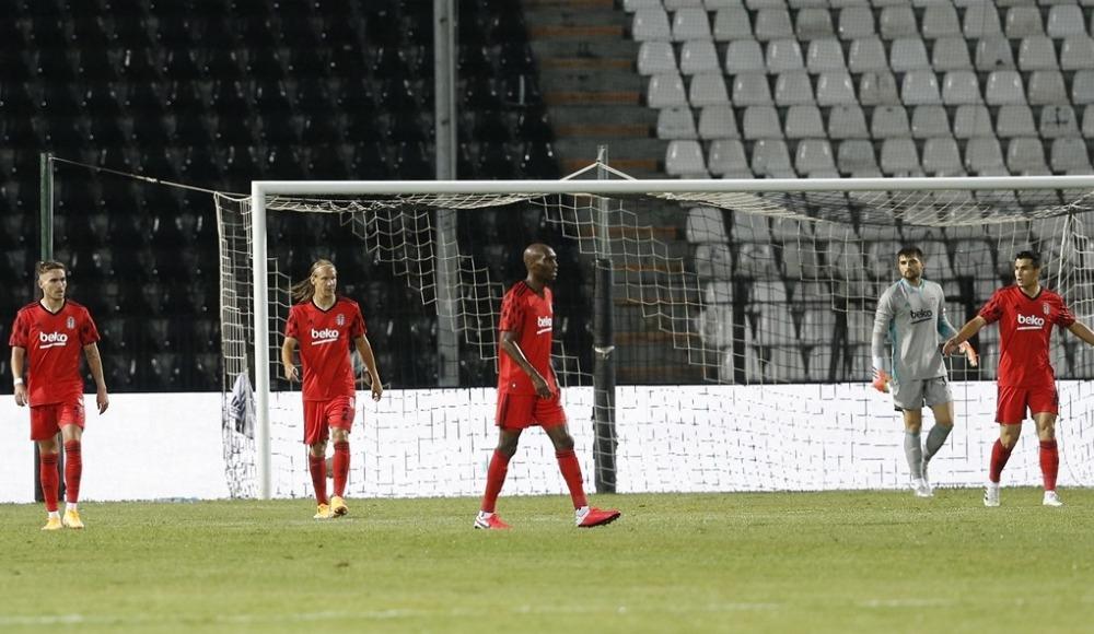 Beşiktaş'ın Şampiyonlar Ligi rüyası başlamadan bitti