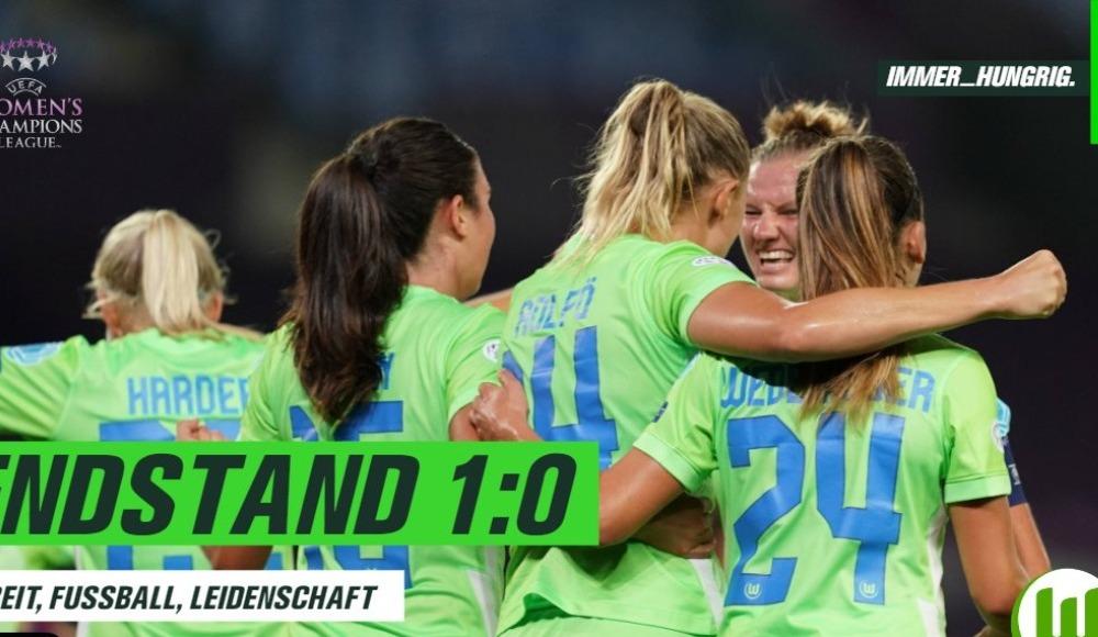 UEFA Kadınlar Şampiyonlar Ligi'nde ilk finalist Wolfsburg