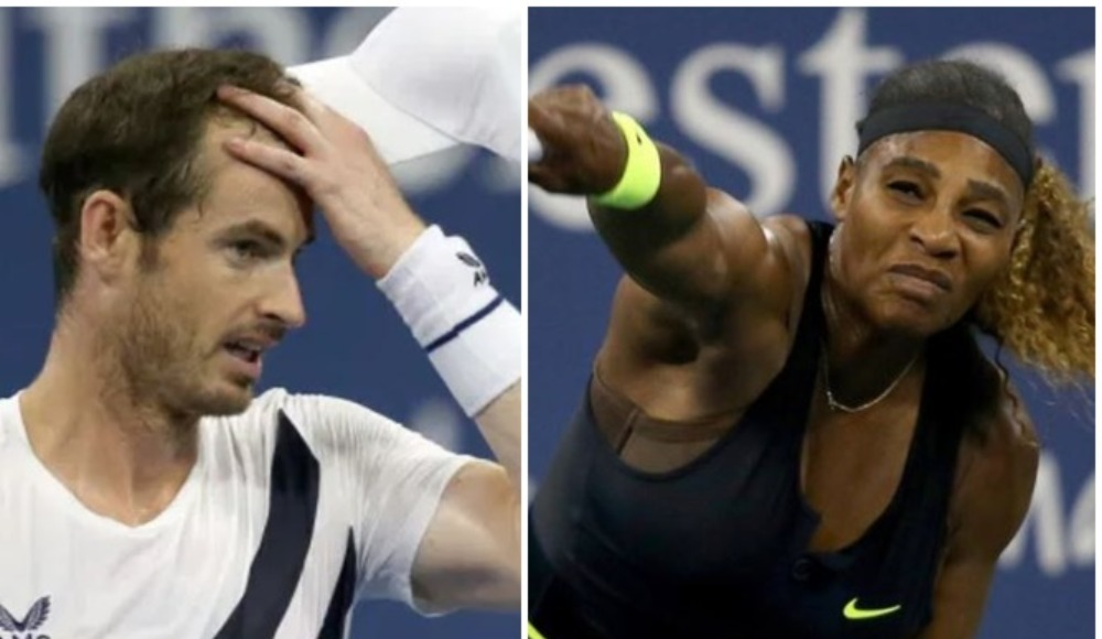 Andy Murray ve Serena Williams'tan erken veda