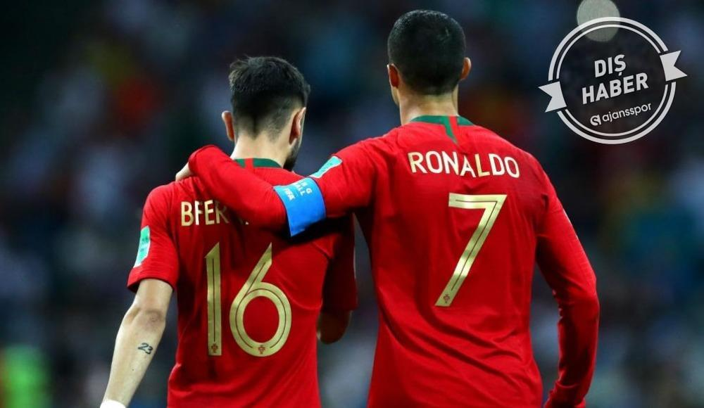"""Bruno Fernandes: """"Ronaldo hâlâ United'ın durumunu soruyor"""""""