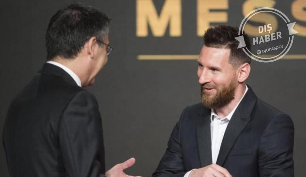 Bartomeu'dan Messi ve istifa sözleri