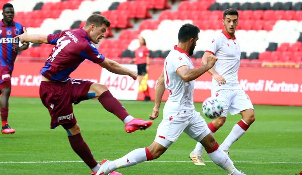 Trabzonspor ilk hazırlık maçında mağlup