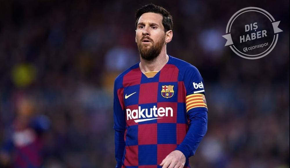 'Messi, Barcelona ile sözleşmesini feshetti'