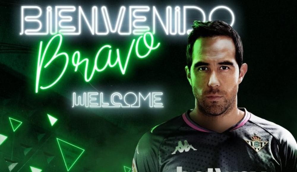 Claudio Bravo Real Betis'te