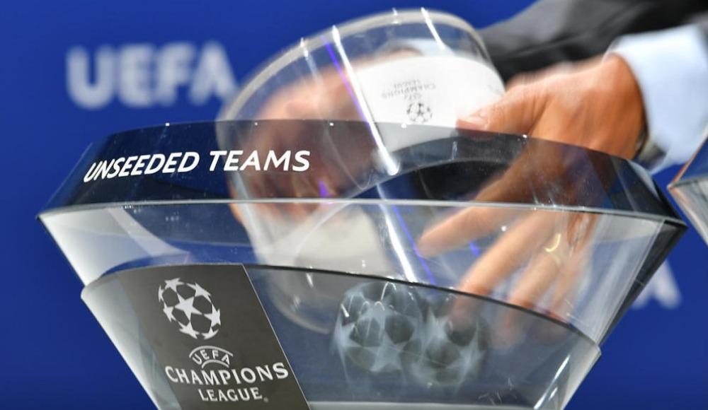 Şampiyonlar Ligi'nde kuralar çekildi