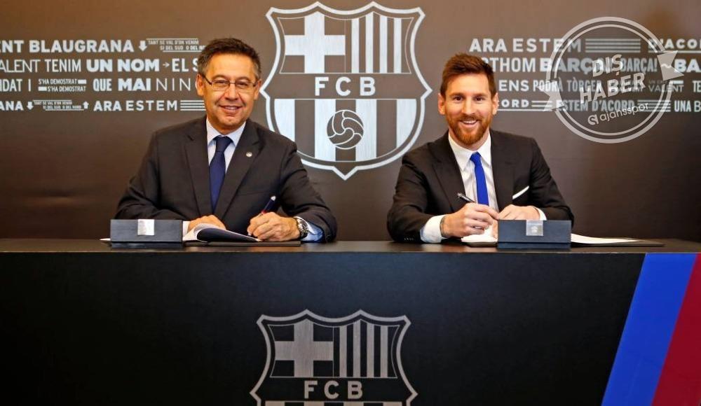 Messi'nin babası Bartomeu ile bir araya geliyor...