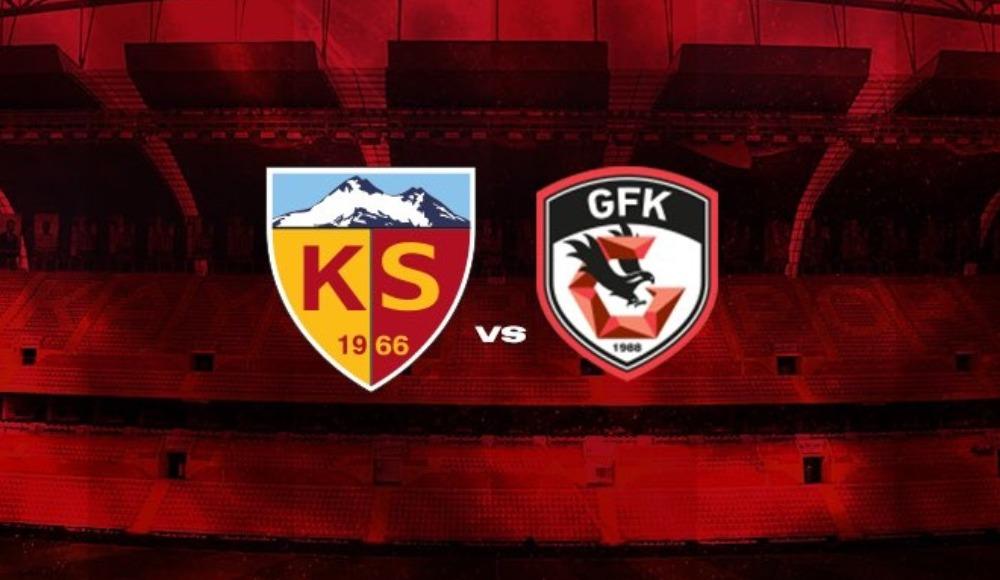 Kayserispor, Gaziantep FK ile hazırlık maçı yapacak