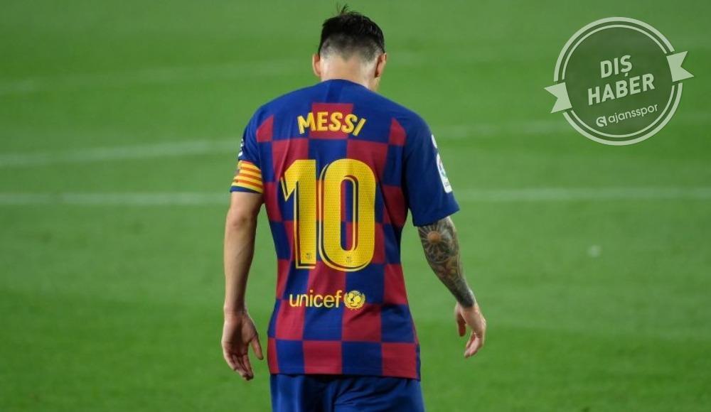 Ve Lionel Messi, FIFA'ya başvurdu....