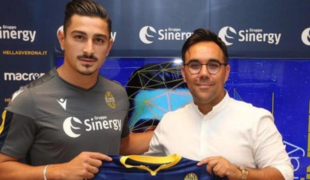 Koray Günter, Hellas Verona'ya imzayı attı