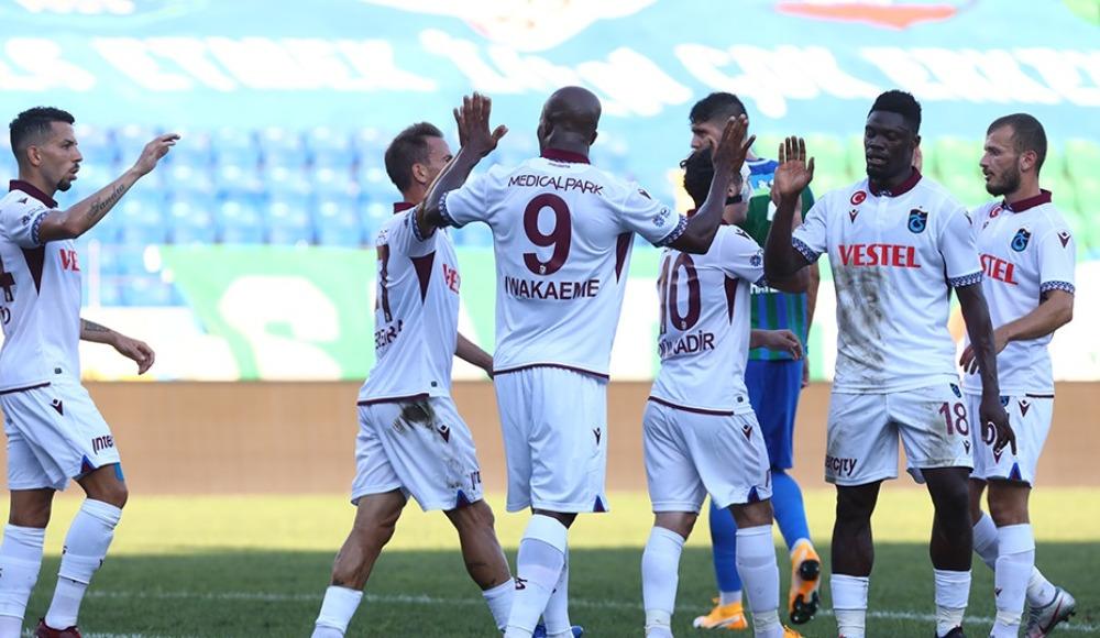 7 gollü maçta kazanan Trabzonspor