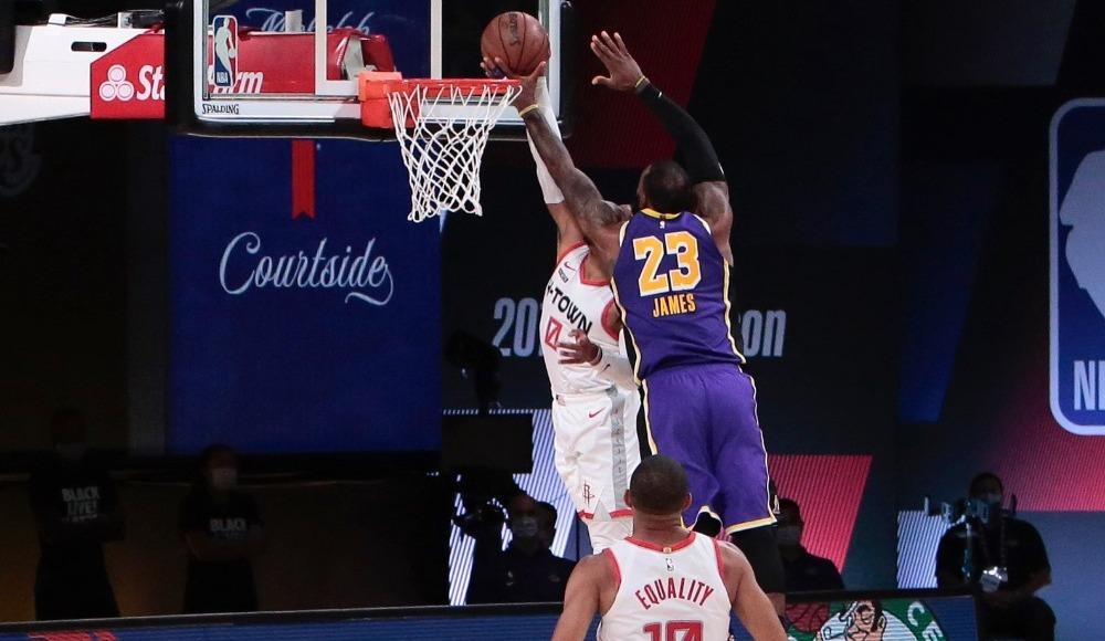 Houston yarı final serisinde Lakers karşısında 1-0 öne geçti
