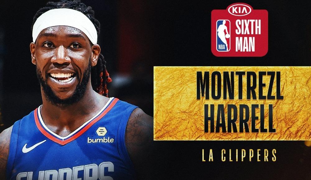 """NBA'de """"Yılın Altıncı Adamı"""" Montrezl Harrell"""
