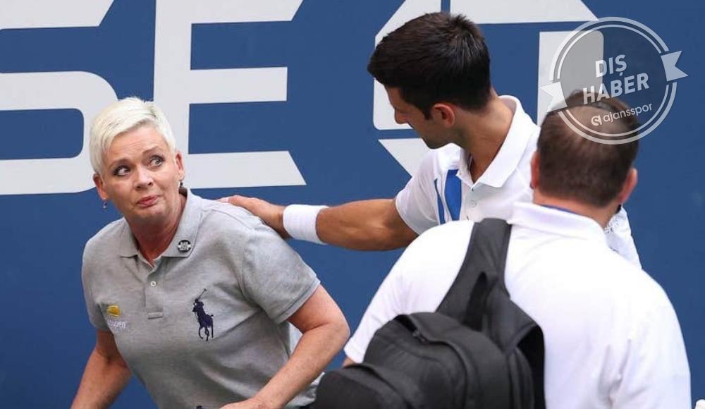 Djokovic diskalifiye edildi!