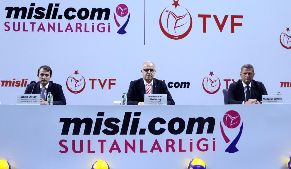"""Misli.com, """"Sultanlar Ligi""""nin yeni isim sponsoru"""