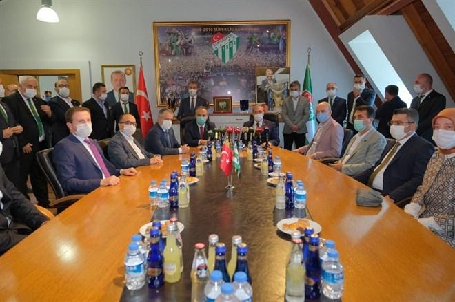 """Alinur Aktaş: """"Bursaspor'un her zaman başarılı olmasını arzuluyoruz"""""""