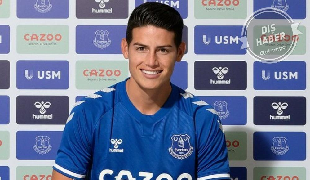 James Rodriguez, resmen Everton'da
